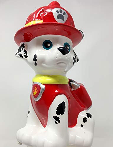 Paw Patrol Marshall Ceramic Coin Bank by Paw Patrol (Image #4)
