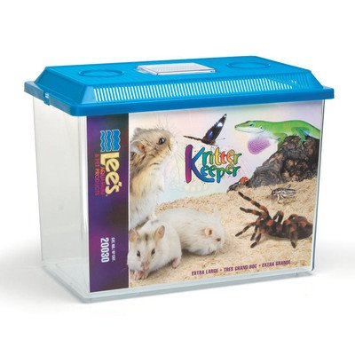 Kritter Keeper Pet Home [Set of 3] Size: Medium (8'' H x 7.75'' W x 11.75'' D) by Lees Aquarium & Pet