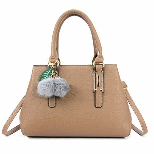 Ruiren Compras Portátil Messenger Bag De Femenina Bolsa Caqui Shoulder 7SFr7wq