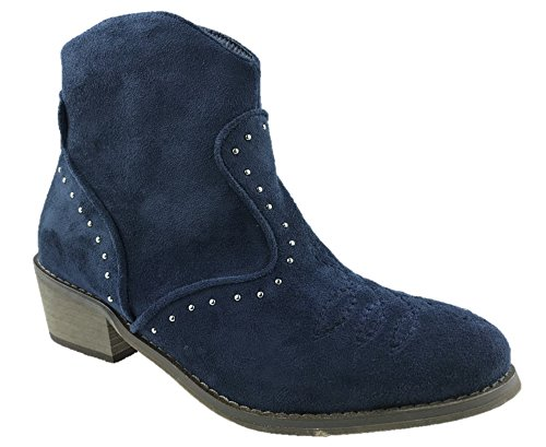 Mc Footwear ,  Damen Cowboystiefel Blau