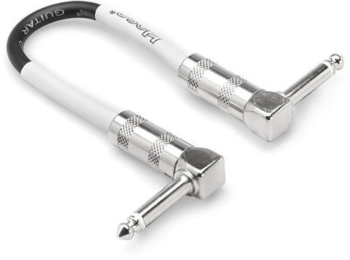 Hosa CPE-106 Right-Angle to Right-Angle Guitar Patch Cable, 6 (Hosa Patch Cable)