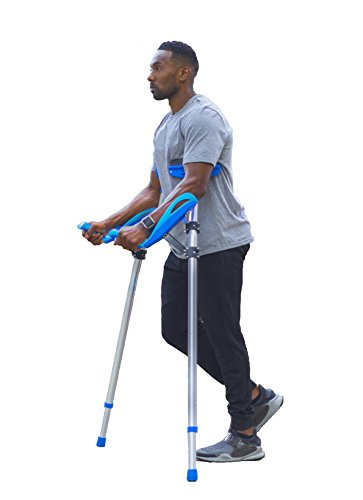 Better Walk Crutches – As Seen on Forbes, Inc, & CNN – Adjustable, Ergonomic Handles, Comfortable & Easy to Use - By BWHealth by Better Walk