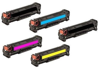 Calitoner Compatible Toner Cartridge Replacement for HP 131A ( Black,Cyan,Magenta,Yellow )