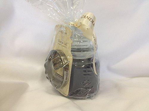 Yankee Candle Star & Stripes 14.5 Oz. Jar Candle with Illuma-lid Jar Candle Accessory