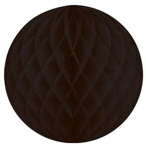 "8"" Black Honeycomb Ball"