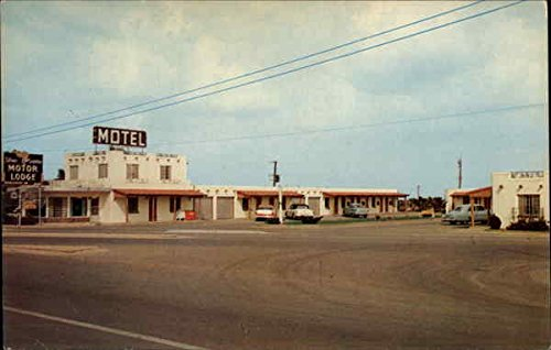 Silver Saddle Motor Lodge Midland, Texas Original Vintage Postcard