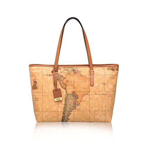 (Alviero Martini Women's Basic Tote Handbags Multicolour)