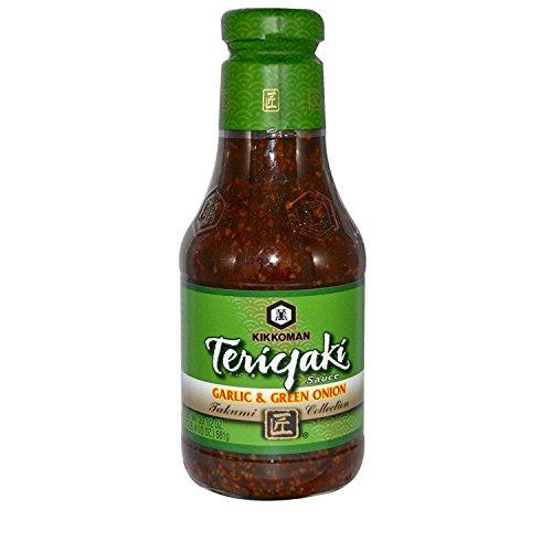 Garlic Teriyaki - Kikkoman Teriyaki Sauce Garlic and Green Onion 20 1/2 oz (581 g)