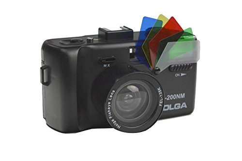 Holga 784120 K-200NM 35mm Camera with Fisheye Lens - Holga Camera