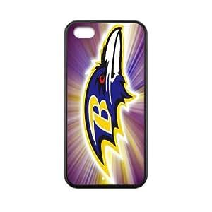 Custom Baltimore Ravens Back Cover Case for iphone 5C JN5C-456