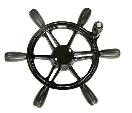 Woqi WH002 Six Spoke Marine Steering Wheel in 15