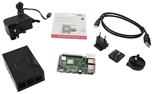 Raspberry Pi 4B Starter KIT, 4GB, BLK