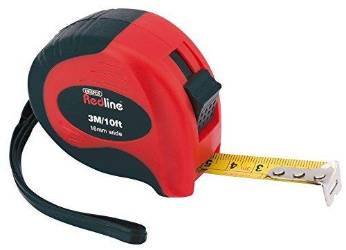 Draper Measuring Tape (Draper Redline 69016 3 m/10 ft Soft Grip Metric/Imperial Measuring Tape by Draper)