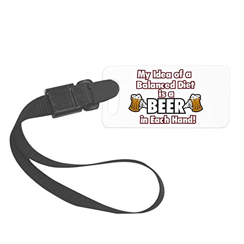 royal-lion-small-luggage-tag-my-idea-balanced-diet-beer-each-hand