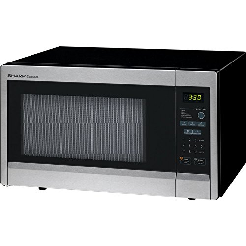 SHARP R331ZS Microwave Oven,SS,1000W by SHARP (Image #1)