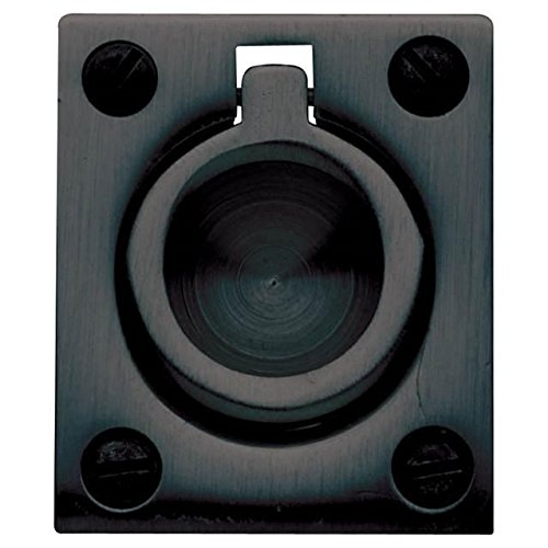 Baldwin 0395102 Flush Ring Pull, Oil Rubbed Bronze by Baldwin