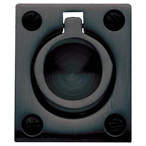 Baldwin 0395102 Flush Ring Pull, Oil Rubbed Bronze (Best Screws For Osb Subfloor)