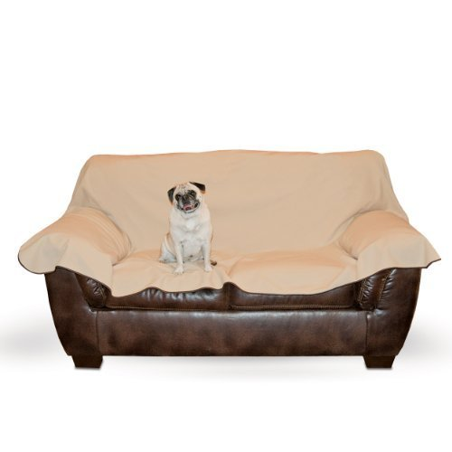 K&H Manufacturing Leather Lover's Furniture Cover Loveseat, Chocolate by K&H Manufacturing