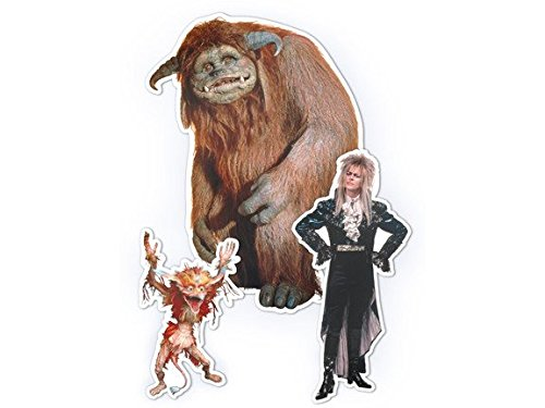 Toy Vault Jim Henson's Labyrinth Character Magnet Set by