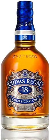 Whisky Chivas Regal 18 anos, 750 ml