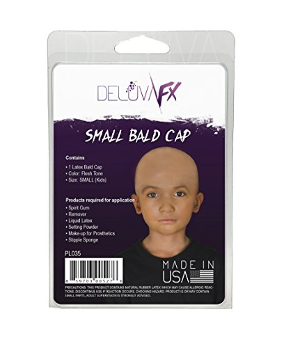 DELUVA FX Latex Bald Cap SMALL (Kids)