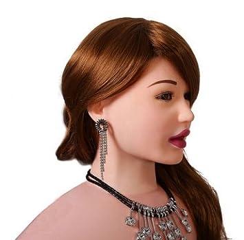 Muñeca Hinchable Realista Deluxe Sex Doll Cara 3D Con Boca ...