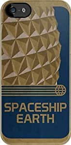 SUUER Spaceship Earth black case Custom Hard CASE for iPhone 5 5s Durable Case Cover