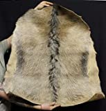 Guinea Whole Hide Goat Skin - with Hair