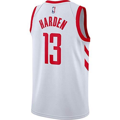 OAWANBA NBA Houston Rockets James-Harden 13 Swingman Men Jersey (Blanco, XXL): Amazon.es: Deportes y aire libre