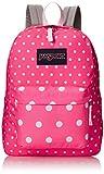 JanSport Womens Superbreak Pink Spots Backpack