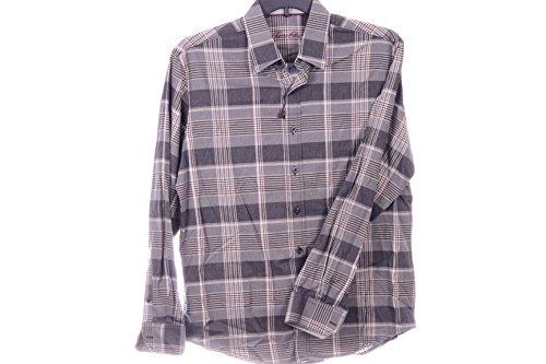 TASSO ELBA LONG-SLEEVE BRUSHED COTTON MOO BROWN COMBO (Punto Blanco Cotton T-shirt)