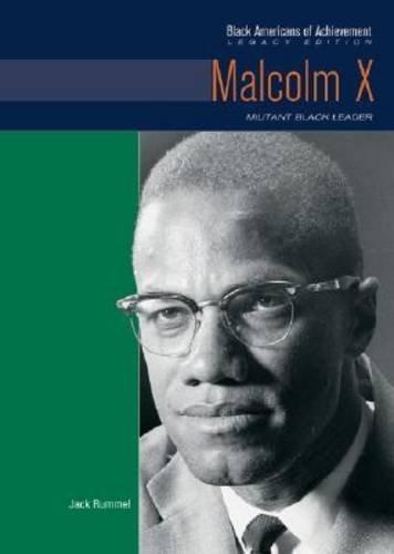 Books : Malcolm X: Militant Black Leader (Black Americans of Achievement)