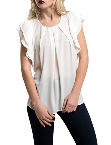 Mujer Relish Para Cral Camisa 1101 Blanco milk qwfOFxtw