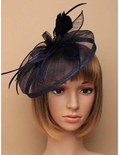 Large Wedding Fascinator Headband Aliceband Ladies Day Races Royal Ascot