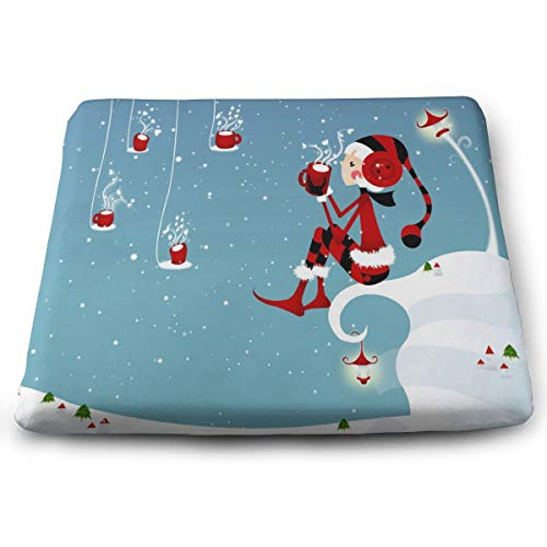 Seat Cushion Christmas Girl Chair Cushion Hot Offices Butt Chair Pads for Outdoors