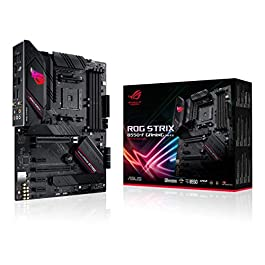 ASUS ROG Strix B550-F Gaming (WiFi 6) AMD AM4 Zen 3 Ryzen 5000 & 3rd Gen Ryzen ATX Gaming Motherboard (PCIe 4.0, 2.5Gb…