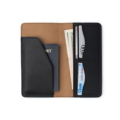 - Saddleback Leather Co. Long RFID Slim Leather Bifold Wallet Includes 100 Year Warranty