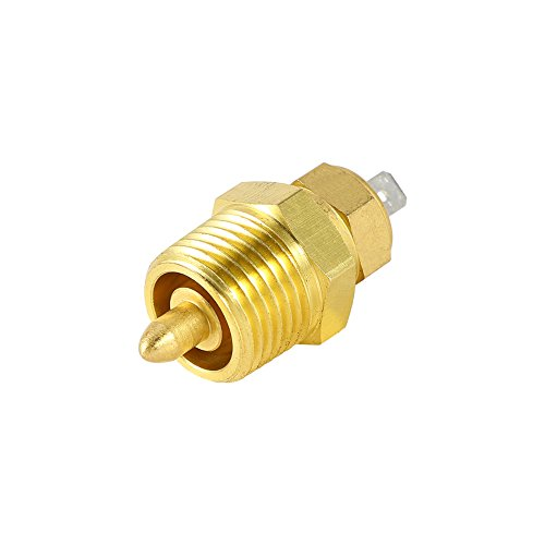 Keenso Fan Thermostat Temperature Switch Electric Engine Cooling Fan Thermostat Temperature Sensor Switch Fan Temperature Switch