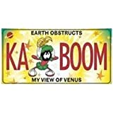 Marvin the Martian KA BOOM License Plate
