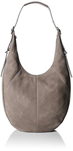 Suede Patchwork Bag (Lucky Sedona Hobo, Brindle)