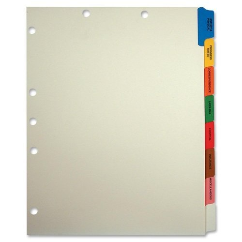 TAB54505 - Medical Chart Divider Sets - (2 Boxes)