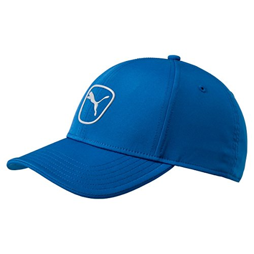 PUMA Golf 2017 Men's Tech Cat Patch Hat (Lapis Blue-Quarry, One Size) ()