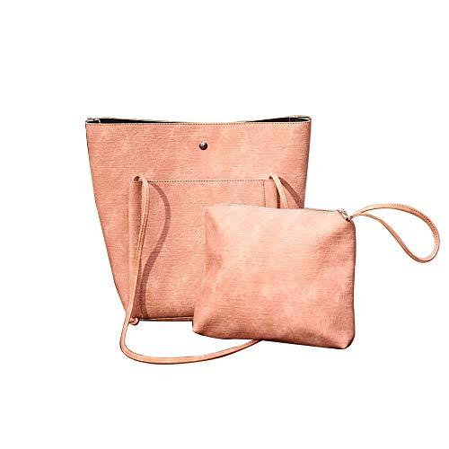 tote bags for paper retro Bag Wild Bag Simple Trend Pink Bag Shoulder Casual Handbag women bags Big satchel Child Bag Women soft xOZ6x