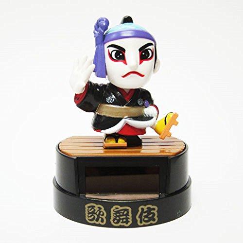 Solar Toys Mini figures Solar Kabuki Actor Sukeroku Figurine Toy