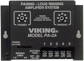 Viking PA-2A Paging/Loud Ringer Amplifier (includes 25AE horn) ()