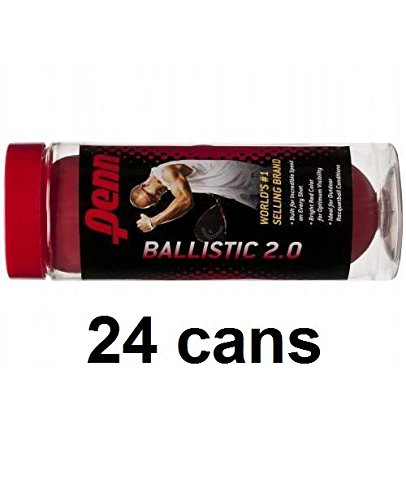 Penn Racquetballs (24 cans) 3 pack Ballistic by Penn