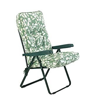Deluxe Reclining Deck Chair with Cushions Cushion Colour Cotswold  sc 1 st  Amazon UK & Deluxe Reclining Deck Chair with Cushions Cushion Colour: Cotswold ... islam-shia.org