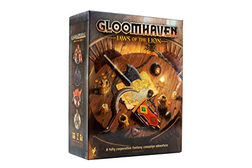 🥇 Cephalofair Games Gloomhaven: Jaws of The Lion Strategy Boxed Board Game for Ages 12 & Up