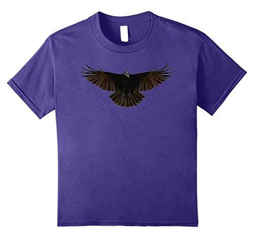 Kids The Crow Halloween Costume Gift Idea T-Shirt 12 Purple
