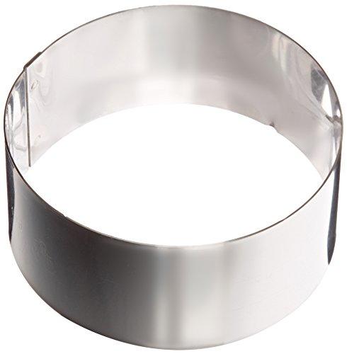 Matfer Bourgeat 371802 Ice Cake Ring, Silver by Matfer Bourgeat